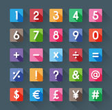 Number and symbol Stock Image