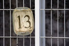 Number thirteen Royalty Free Stock Images