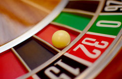Number thirty two roulette Royalty Free Stock Images
