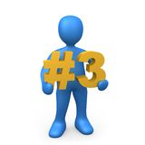 Number Three Stock Images