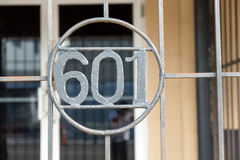 The Number 601 Stock Images