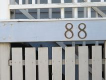 The Number 88 Stock Photography