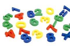 Number toy Stock Image