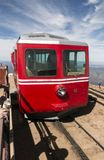 Number 16 train of the Cog Railway at Pikes Peak Stock Photography