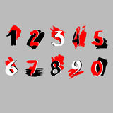 Number vector design symbol numeral school Stock Photo