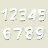 Number. Web design graphics, web sources Stock Photo