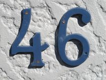 The Number 46 stock photo