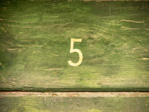 Number 5 3 Stock Photo