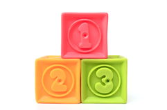 Numbered blocks Stock Photography