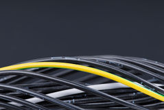 Numbered Cables Royalty Free Stock Photos