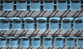 Numbered Stadium Seats Stock Images