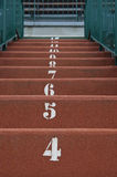 Numbered Steps Stock Photography