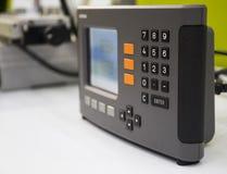 numberic digiti il pannello di controllo fotografia stock