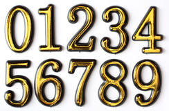 Numbers 0 to 9 Stock Photos