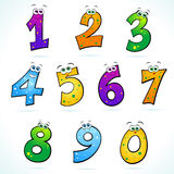 Numbers Stock Photo