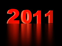 Numbers 2011 Stock Image