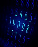 Numbers Royalty Free Stock Photos