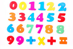 Numbers royalty free stock images