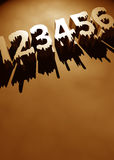Numbers Royalty Free Stock Photography