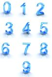 Numbers. Signs isolated on white Royalty Free Stock Image