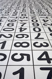 Numbers. Number Floor Tiles Royalty Free Stock Photos