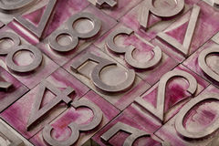 Numbers abstract Royalty Free Stock Image