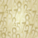 Numbers abstract background Royalty Free Stock Image