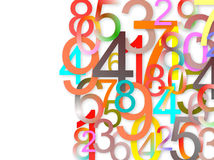 Free Numbers Background Royalty Free Stock Images - 13481329