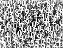 Numbers background royalty free stock image