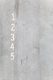 Numbers on background Royalty Free Stock Photography