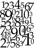 Numbers Background - Mathematical Concept Stock Photos