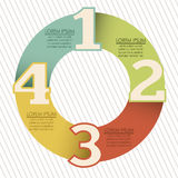Numbers Brochure Stock Images