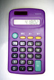 Numbers on calculator Royalty Free Stock Images