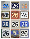 Numbers 26 Stock Photos
