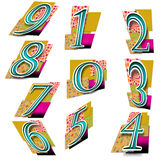 Numbers in Colourful Background - Random Stock Photo