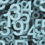 Numbers concept Royalty Free Stock Photos