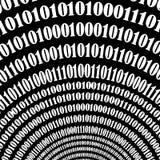 Numbers Concept. Algorithm, Decryption Encoding. Binary Code Background. Numbers Concept. Algorithm, Data Code, Decryption and Encoding vector illustration