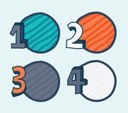 Numbers design Royalty Free Stock Images