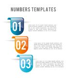 Numbers design Stock Photos