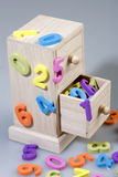 Numbers of foam. In a piece of furniture Royalty Free Stock Photos