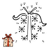 Numbers game, Christmas Gift Royalty Free Stock Photo