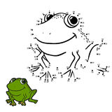 Numbers game (frog) Royalty Free Stock Photo