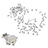 Numbers game (goat) Stock Image
