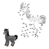 Numbers game (horse) Royalty Free Stock Photos