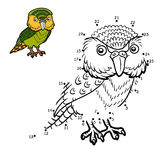 Numbers game, Kakapo Stock Image