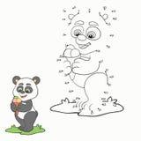 Numbers game (panda) Royalty Free Stock Photos