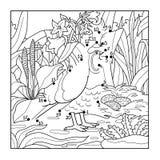 Numbers game (quail, bird) Royalty Free Stock Photos