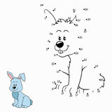 Numbers game (rabbit) Stock Image