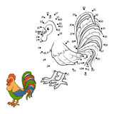 Numbers game (rooster) Stock Photos