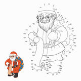 Numbers game (Santa Claus) Royalty Free Stock Photo